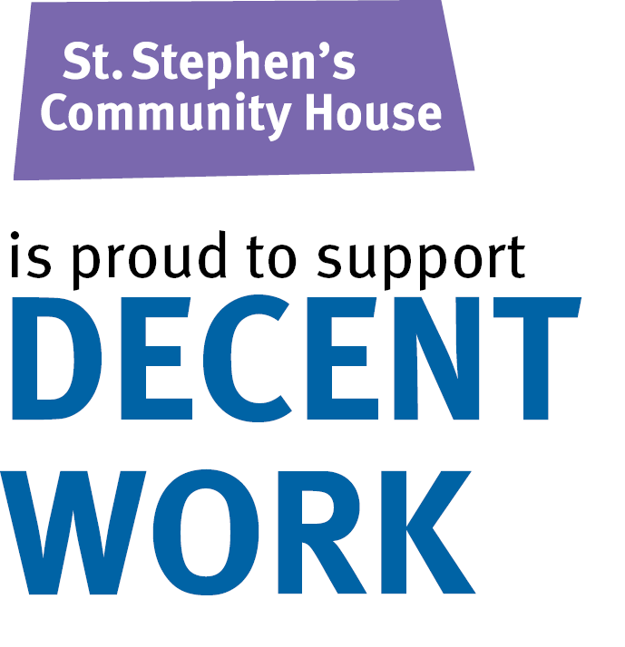 St. Stephen's is proud to support decent work.