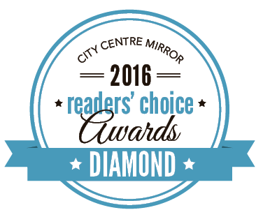 City Centre Mirror Reader's Choice Awards - Diamond