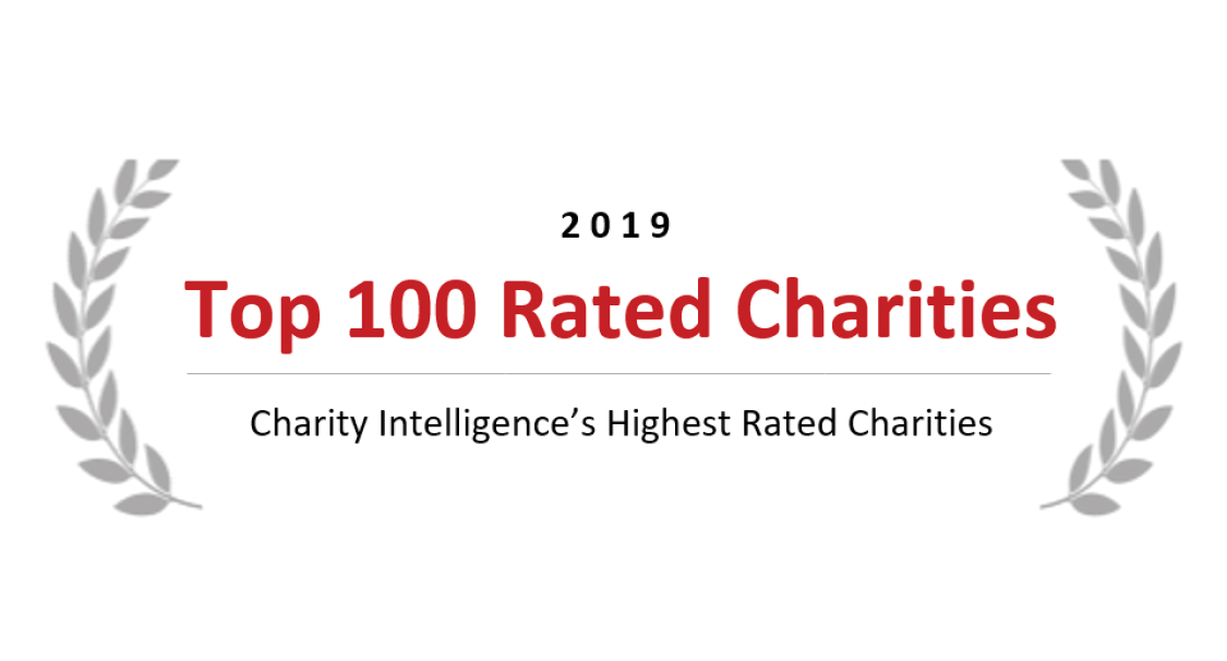 2019 Top 100 Rated Charities - Charity Intelligence's Highest Rated Charities