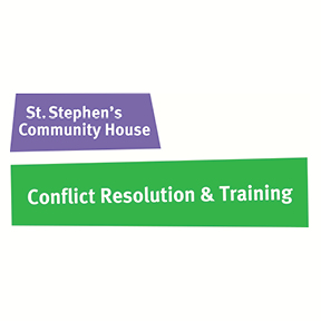 St. Stephen's Community House - Conflict Resolution & Training
