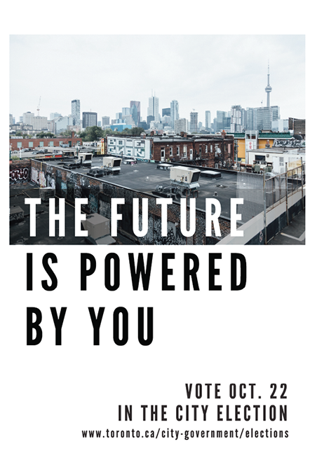 The Future is Powered By You - vote Oct. 22