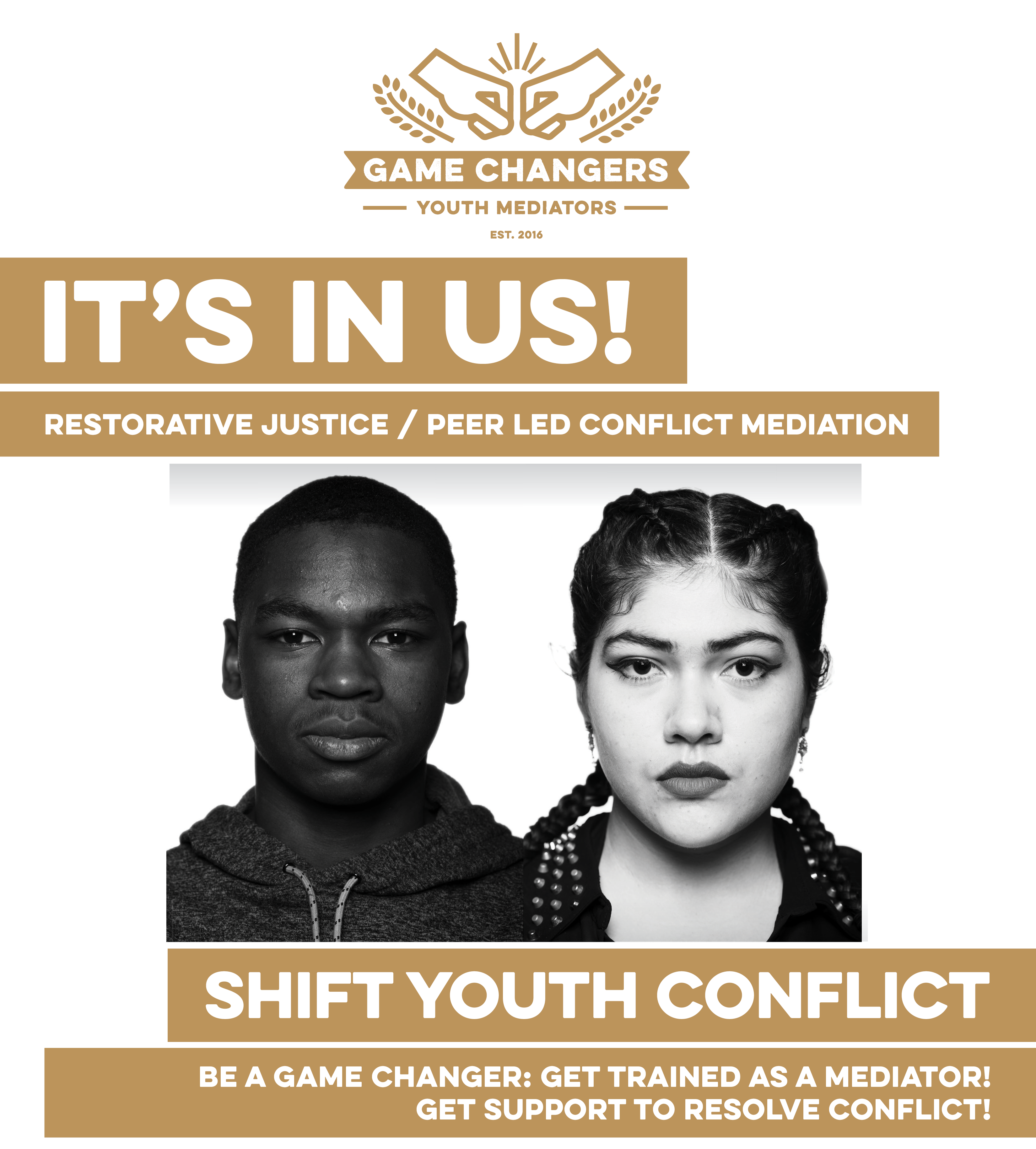 Game Changers - Youth Mediators: Restorative Justice Peer Led Conflict Mediation