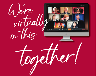 We're virtually in this together!