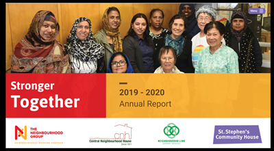 The Neighbourhood Group 2019-2020 Annual Report: STronger Together