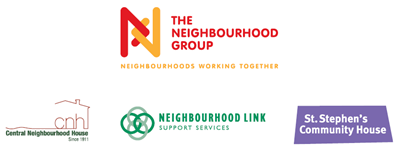 The Neighbourhood Group, Central Neighbourhood House, Neighbourhood Link, St. Stephen's Community House